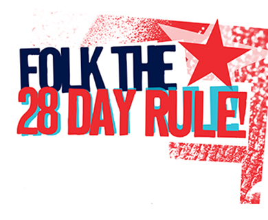 Folk The 28 Day Rule – Benefit Gig